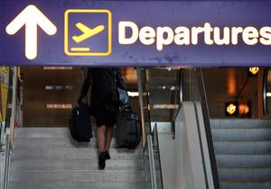 Граждане Украины застряли в аэропорту