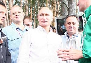 Путин на Селигере пообещал похудеть и проехаться с Медведевым на велосипеде-тандеме