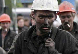 За семь месяцев добыча угля в Украине выросла почти на 10%