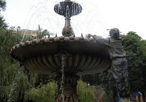 В Киеве ко Дню Независимости обещают модернизировать свыше 20-ти фонтанов