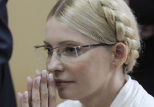 Представитель омбудсмена рассказал, что у Тимошенко боевое настроение