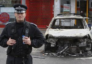 Британские страховщики компенсируют 200 млн фунтов стерлингов ущерба от погромов