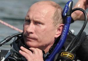 Фотогалерея: Мокрое дело. Путин достал со дна Таманского залива две амфоры