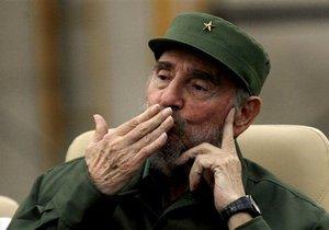 Лидер кубинской революции Фидель Кастро отмечает юбилей