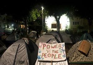 Протесты в Израиле: в столице палаточный городок вызывает недовольство горожан
