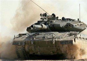 Экипаж израильского танка заснул на границе с Газой