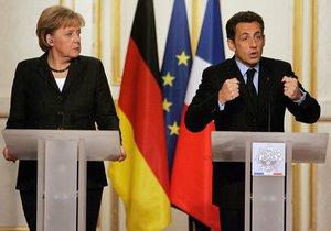 Меркель и Саркози предложили создать экономическое правительство еврозоны