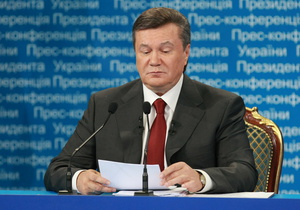 Приветствие Януковича участникам Всемирного форума украинцев прерывали криками