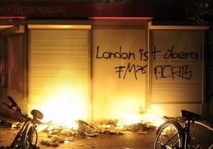 В Гамбурге полиция разогнала демонстрантов, устроивших беспорядки