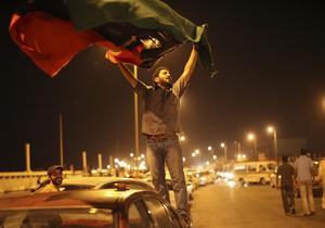 Ливийские повстанцы заявили об установлении контроля над Триполи