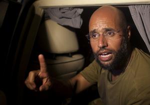 Сын Каддафи заявил, что ливийский народ сломал хребет