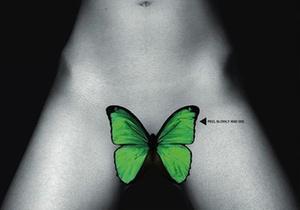 В Великобритании запретили обложку журнала с бабочкой Херста