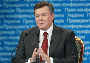 Янукович рассказал, что в школе
