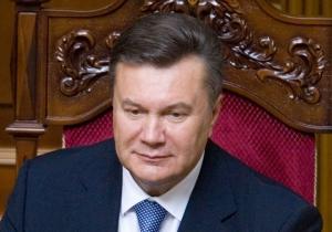 Янукович в Раде допустил очередной ляп
