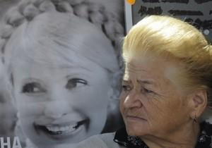 На Крещатике транслируют показания Тимошенко в суде