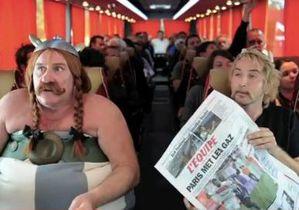 Депардье в образе Обеликса обыграл в шуточном видео свой конфуз в самолете