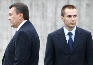 Компания сына Януковича отрицает заинтересованность в киевском Гидропарке
