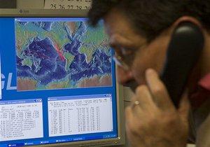 В Тихом океане у островов Тонга произошло сильное землетрясение