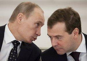 Путин предложил Медведеву возглавить правительство после президентских выборов