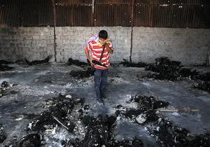 В Триполи обнаружили братскую могилу на 1200 человек