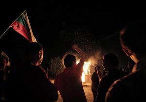 В Болгарии задержали около 100 участников антицыганских выступлений