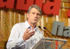 Это рыцарская задача: Ющенко поведет Нашу Украину на выборы
