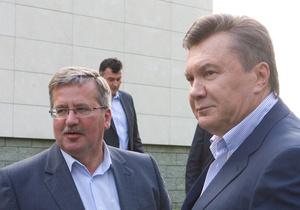 Янукович отбыл на саммит в Варшаву, где встретится с лидерами ЕС