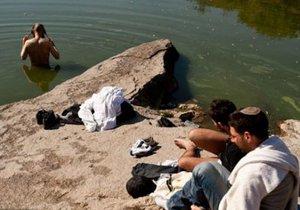 В Умани утонул хасид