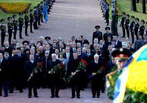 В Киеве руководство страны почтило память жертв Бабьего Яра