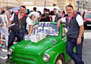 Сегодня Братья Капрановы представят в Киеве новый роман