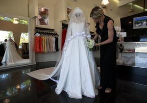 Свадебное платье Кейт Миддлтон привлекло в Букингемский дворец рекордное количество посетителей