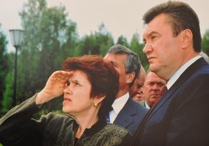 КП: Жена Януковича очень расстраивается, когда читает о себе в прессе