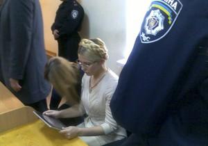 Cуд: Показания Тимошенко направлены на избежание уголовной ответственности
