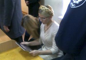 Тимошенко обжалует приговор в Европейском суде по правам человека