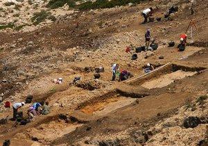В ЮАР археологи обнаружили древнейшую мастерскую художника