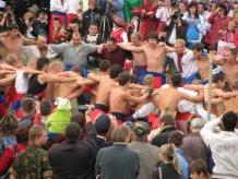 На Хортице подрались более полусотни казаков из Украины и России