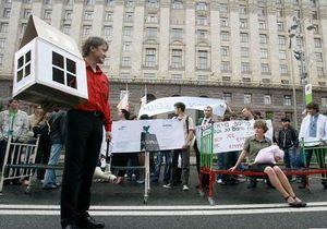 Сегодня в Киеве пройдет Марш беcквартирной молодежи