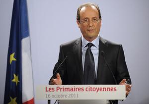 Французские социалисты выбрали соперника для Саркози