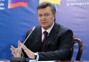 Янукович о членстве в Таможенном союзе: Мы не спешим, мы должны потрогать руками