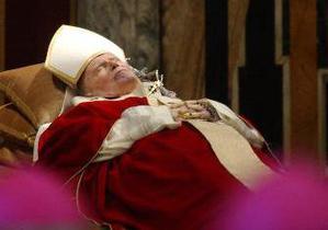 В одесский собор привезли мощи Папы Иоанна Павла II