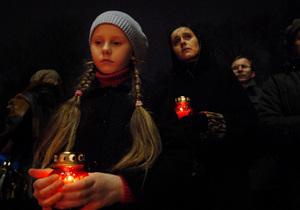 Киевские детки узнают правду о Голодоморе