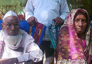 В Индии 120-летний долгожитель вступил в брак