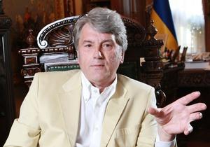Генпрокуратура продолжает вести переговоры с Ющенко относительно сдачи анализа крови