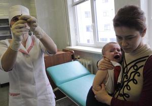 ВОЗ предупреждает Украину о росте заболеваемости корью в 2012 году
