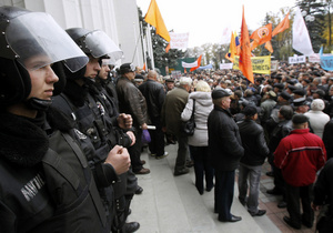 Украину захлестнули протесты
