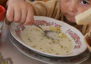 Киевских деток кормят непонятно чем