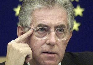Керівництво Євросоюзу привітало призначення Маріо Монті прем'єром Італії