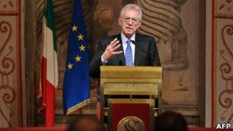 Монті хоче залишатися прем'єром Італії до 2013