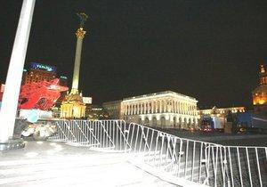 Новый год на Майдане будет в стиле Евро-2012