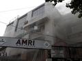 В Индии в результате пожара в больнице погибли 70 человек